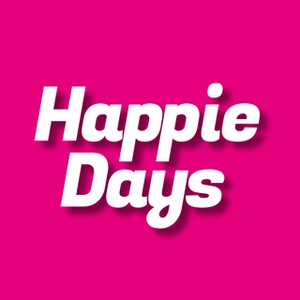 Happie Days logo