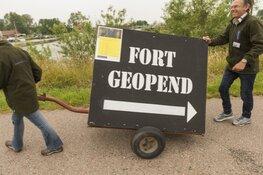 Fort bij Spijkerboor open in mei en juni