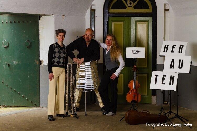 Kom naar het bijzondere concert 'Herauten van de Stelling' van Duo Leeghwater en Henk Zwart op zondagmiddag 16 juni op Fort bij Spijkerboor!