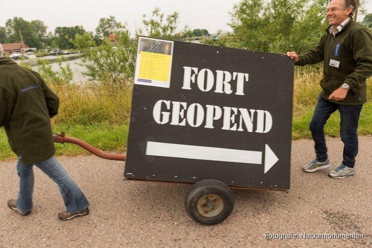 Fort bij Spijkerboor open op zomerzondagen in augustus