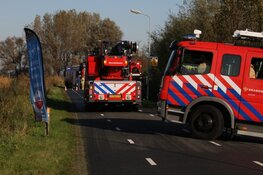 Brandje in schuur in Wormer