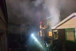 Uitslaande brand in woning in Wormerveer