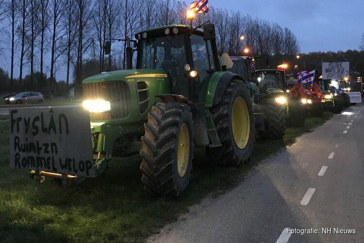 """Boeren in actie op op- en afritten snelwegen: """"Nog steeds grote zorgen"""""""
