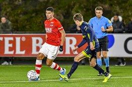 Aboukhlal schiet Jong AZ langs Helmond Sport