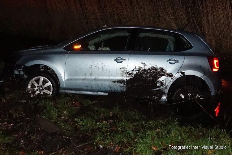 Ongeluk met dronken bestuurder: vier inzittenden ongedeerd
