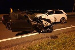 Drie gewonden bij ongeval op A7