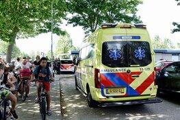 Vrouw uit zwembad in Wormer gered