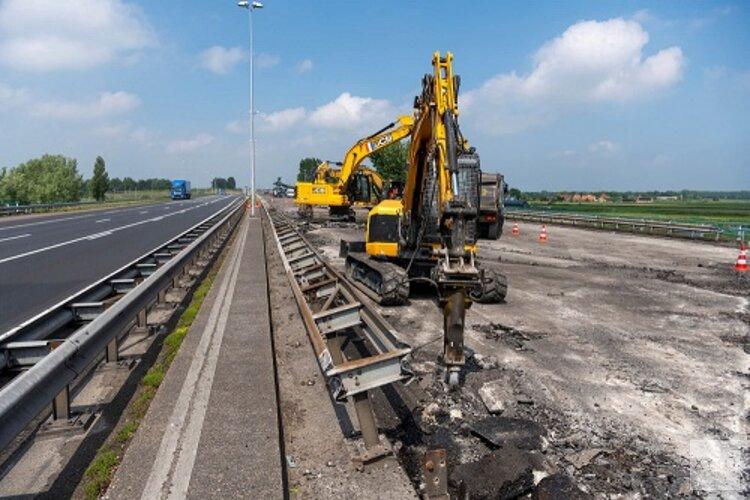 Update werkzaamheden A8 richting Amsterdam