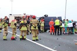 Zwaargewonde bij ongeval A7 Wijdewormer