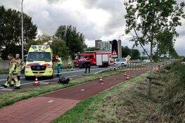 Auto te water in Wormerveer, bestuurder gewond