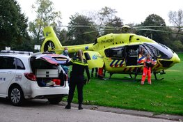 'Coronahelikopter' vervoert coronapatiënt van ZMC naar Groningen