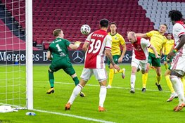Ajax na valse start toch langs Fortuna Sittard, droomdebuut Brobbey