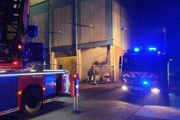 Nachtelijke brand bij fabriek Wormerveer