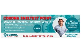 Corona Sneltest Point nu ook in Zaandam